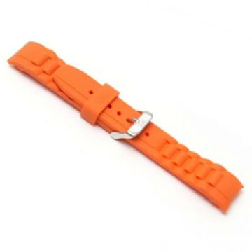 Orange Silicone Watch Strap to Fit Ice Watches